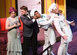 ASU students performing in a musical